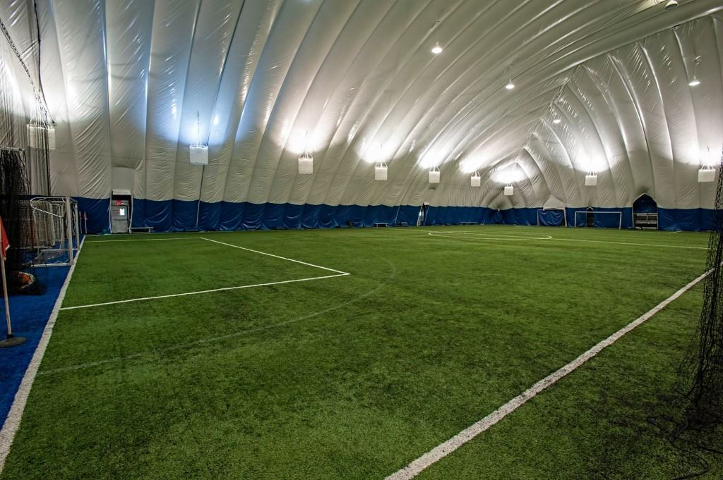 Indoor field rentals at Soccer Centers